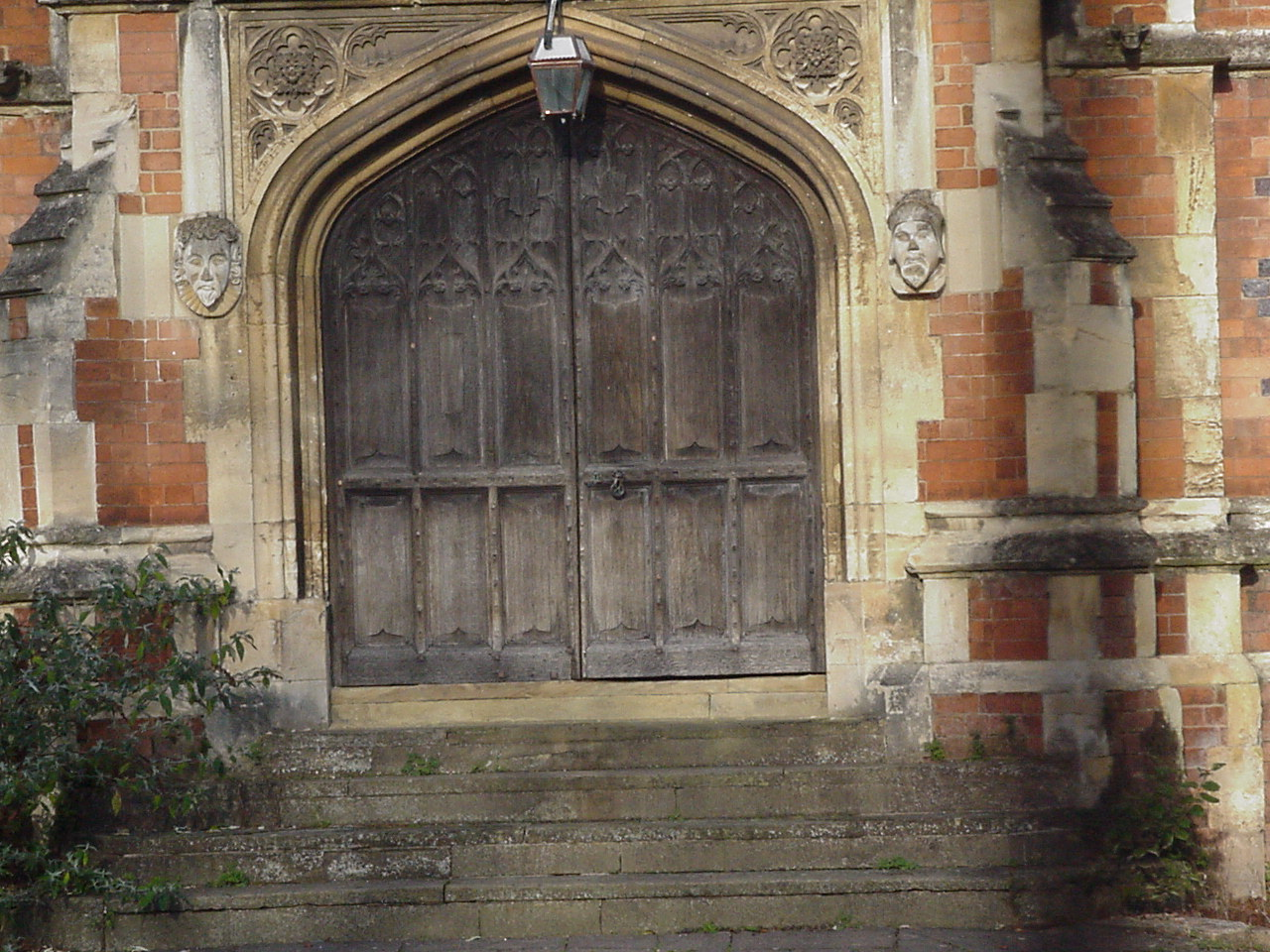 Leamington College for Boys: front door
